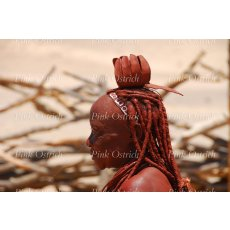 himba woman side profile