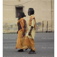 india men walking