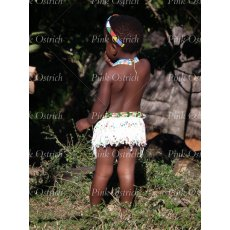 zulu girl in beads
