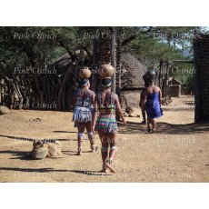 zulu women walking