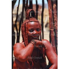 himba woman laughing